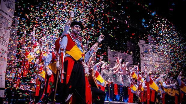 Resultado de imagen de carnaval en la calle cadiz 2020