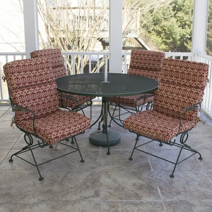 sunbeam patio table and chairs