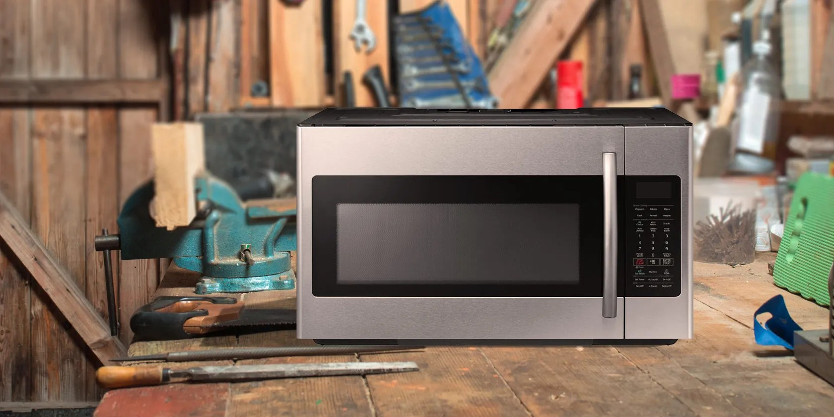 how to safely take apart a microwave