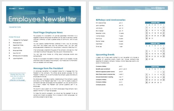 03/08/2019· free hoa newsletter templates. 13 Free Newsletter Templates You Can Print Or Email As Pdf