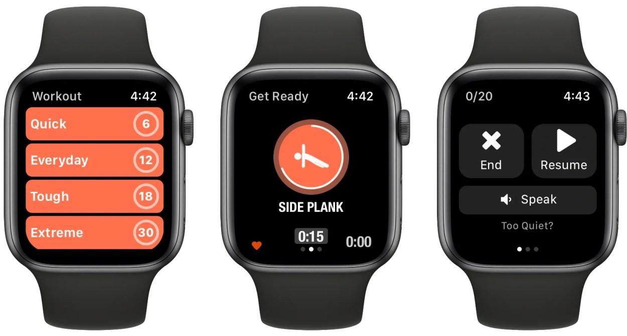 Streaks Workout Apple Watch app