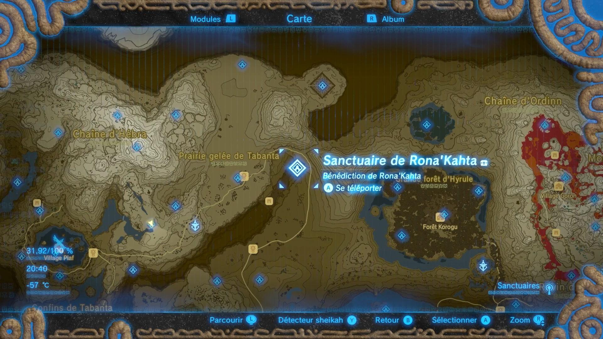 Sanctuaire RonaKahta Millenium