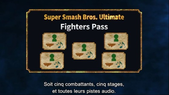 Fighter Pass DLC Super Smash Bros Ultimate SSBU Millenium