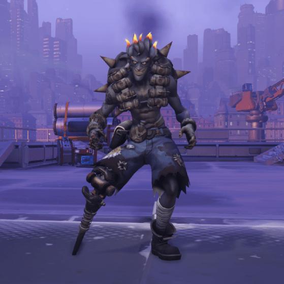 Cosmtiques Skins Chacal Overwatch Millenium
