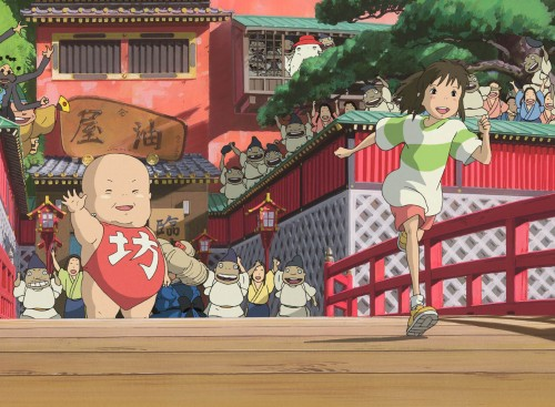Kazuo Oga, Studio Ghibli, Spirited Away, Kamajii, Boh