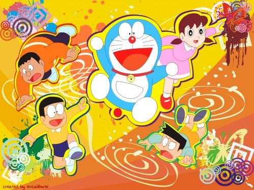 Hiroshi Fujimoto, Shin-Ei Animation, Studio Pierrot, Doraemon, Nobita Nobi Wallpaper
