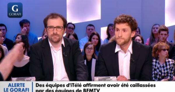 Pablo Mira et Sébastien Liebus
