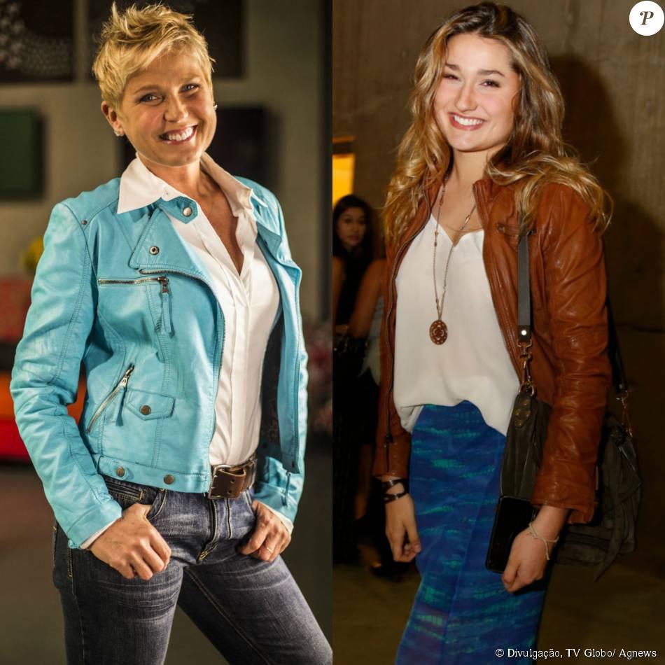 Sasha desenha roupas para a mãe, Xuxa, usar na estreia de programa na Record