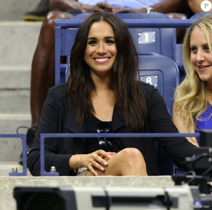 Meghan Markle (Suits) lors du dixième jour de l'US Open 2016 au USTA Billie Jean King National Tennis Center à New York, le 7 septembre 2016. © CPA/Bestimage