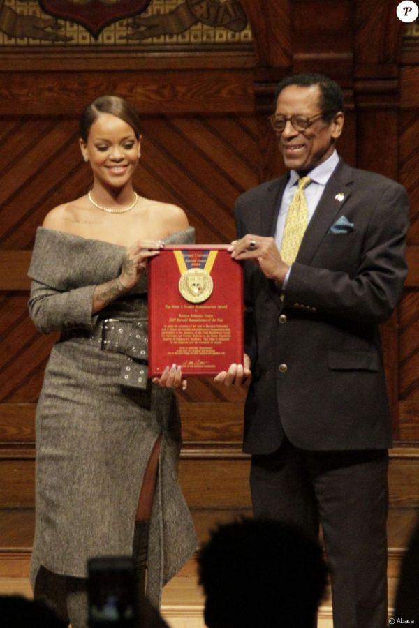 Rihanna à Harvard : La superstar honorée par la ...