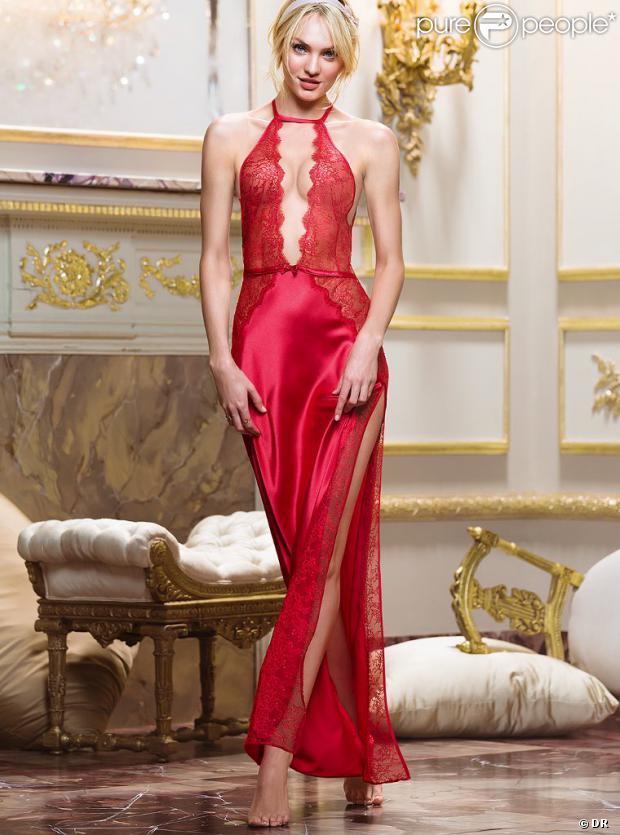 Candice Swanepoel pour Victoria's Secret.