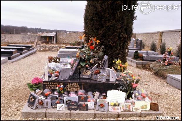 Tombe de Claude François au cimetière de Dannemois