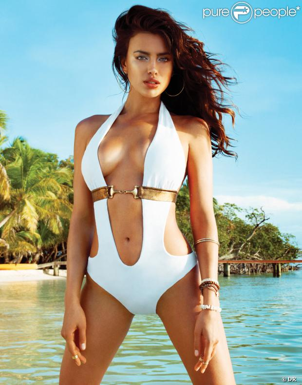 Irina Shayk, créatrice et égérie de sa collection de bikinis, Irina Shayk for Beach Bunny.