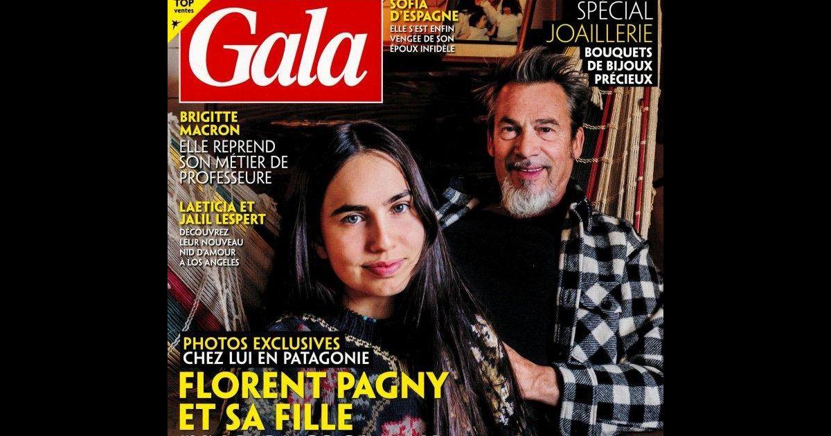 Au sud de l'argentine en patagonie, se trouvent des plateaux et des montages dans un paysage parfois désertique. Gala avec Florent Pagny et sa fille Ael - Purepeople