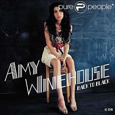 Pochette de l'album Back To Black, d'Amy Winehouse
