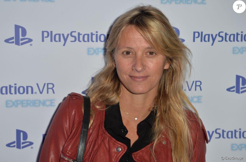 Sarah Lavoine Lors De La Soire Experience PlayStation VR