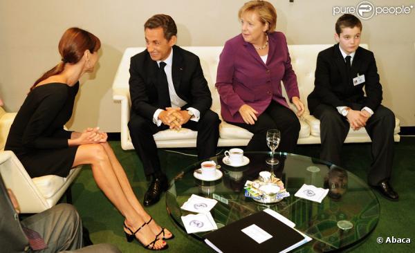 Sarko Merkel Carla Louis ONU