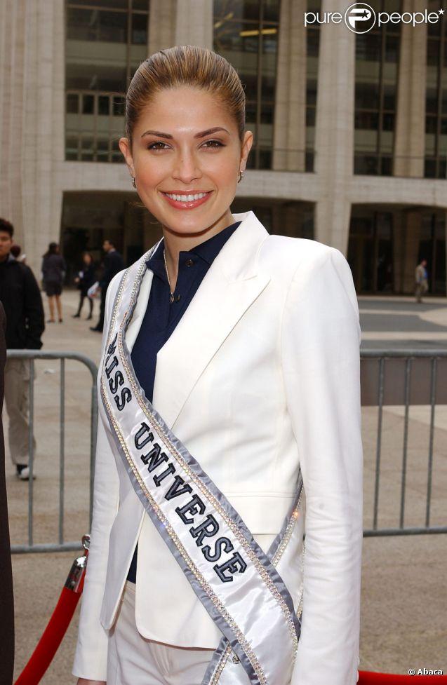 Miss Univers 2002, Justine Pasek