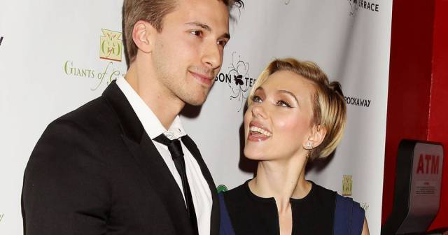 Image result for scarlett and hunter johansson