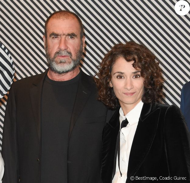 Eric cantona and his wife rachida brakni attend the 'diner des amis du musee d'art. Eric Cantona Et Rachida Brakni Confidences De Couple Dont Un Drole De Surnom Purepeople