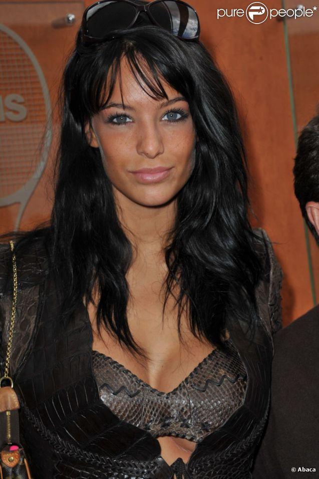 Jade Foret, à 20 ans, sublime à Roland Garros en mai 2011