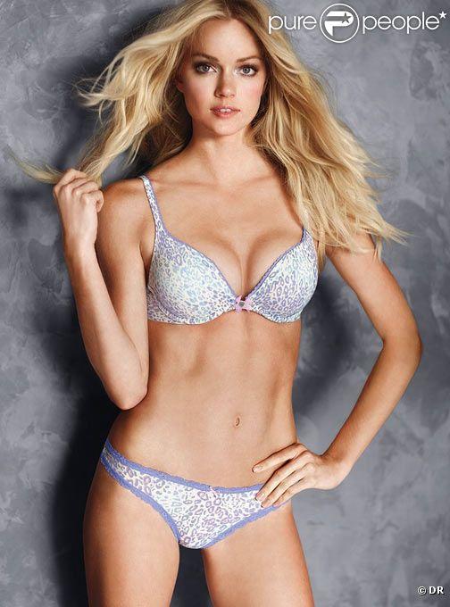 L'incroyable top model américain Lindsay Ellingson pose pour la lingerie Victoria's Secret