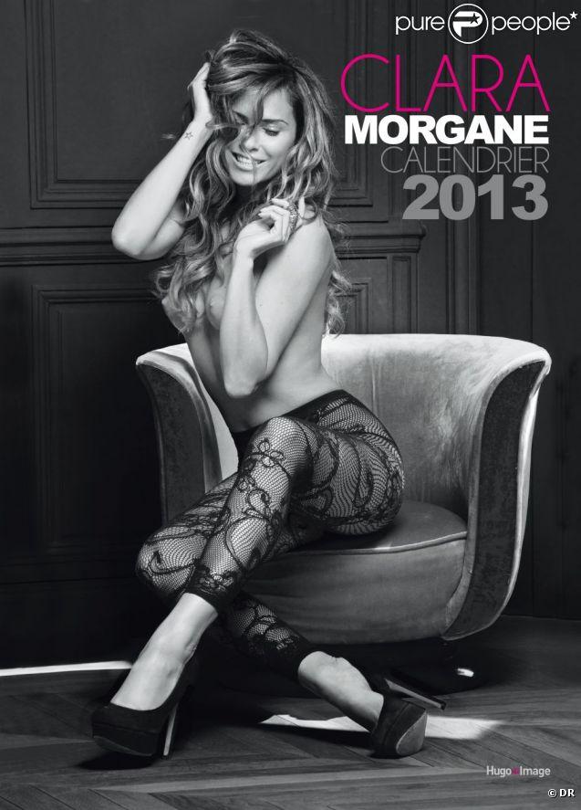 Couverture du calendrier 2013 de la jolie Clara Morgane