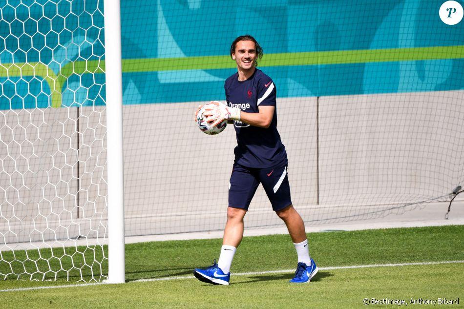 Ia punya kapasitas untuk melakukan hal. Antoine Griezmann s'entraine à Munich pour l'Euro 2020 le ...