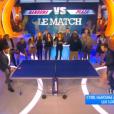 Cyril Hanouna perd au ping-pong face à Stéphane Plaza, le 13 janvier 2016 sur D8 dans TPMP