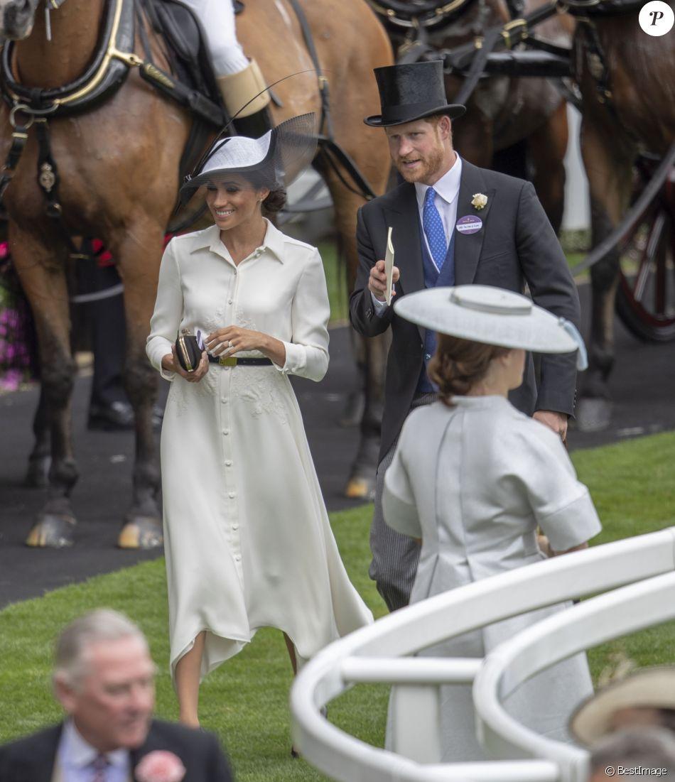 Meghan Markle, duchesse de Sussex, et le prince Harry