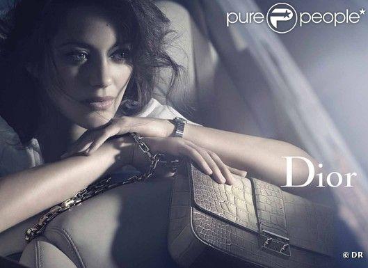 Marion Cotillard sur les visuels de campagne Dior