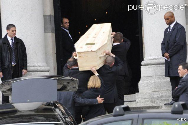 Obsèques d'Eric Charden, le 11 mai 2012, à Paris.