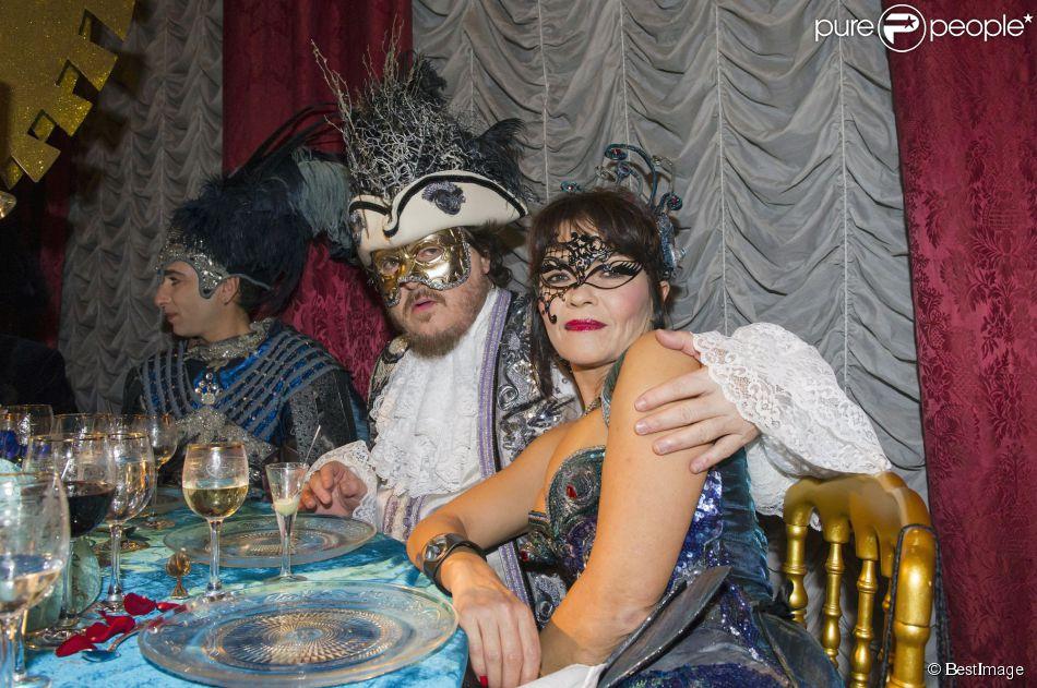 Zucchero Costum Venise Avec Sa Belle Francesca Mozer