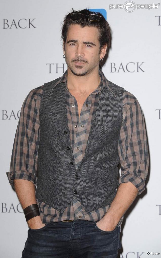Colin Farrell doit soulever de la fonte pour entrer dans la peau de Doug Quaid, dans le remake de  Total Recall , en tournage en mars 2011.