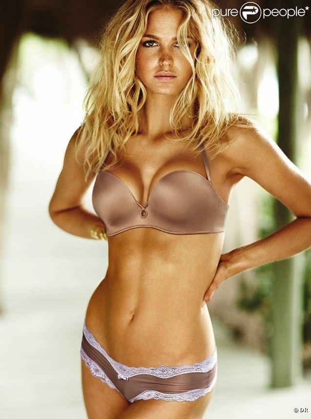 Erin Heatherton, sexy et sauvage pour Victoria's Secret.