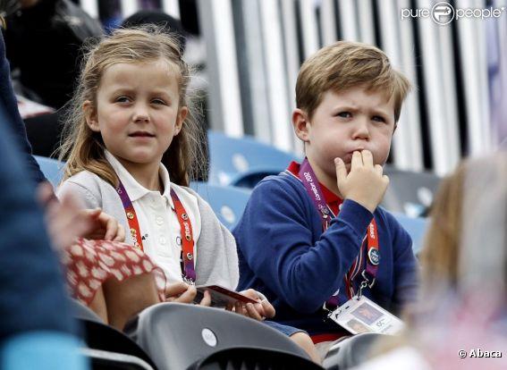 JO - Prince Christian et princesse Isabella: Supporters de la princesse Nathalie