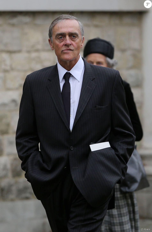 Le Duc de Westminster arrive à la Cathédrale Saint Mary pour les funérailles de Hugh van Cutsem, à Brentwood, Essex, le 11 septembre 2013