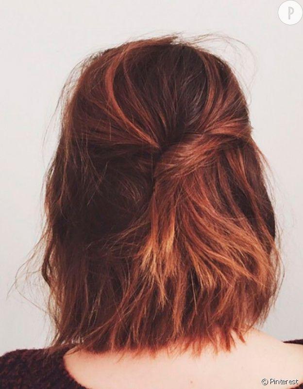 10 coiffures pour les cheveux mi longs
