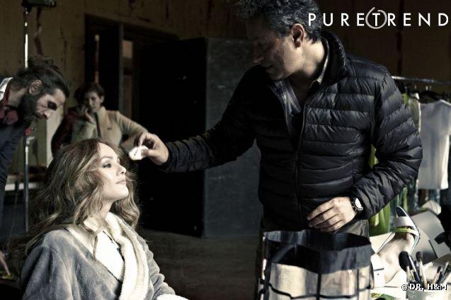 Vanessa Paradis , nouvelle égérie de la collection  H&M  Conscious.