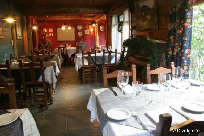 O Chez Philippe fica em um bairro residencial um pouco afastado do centro de Bariloche