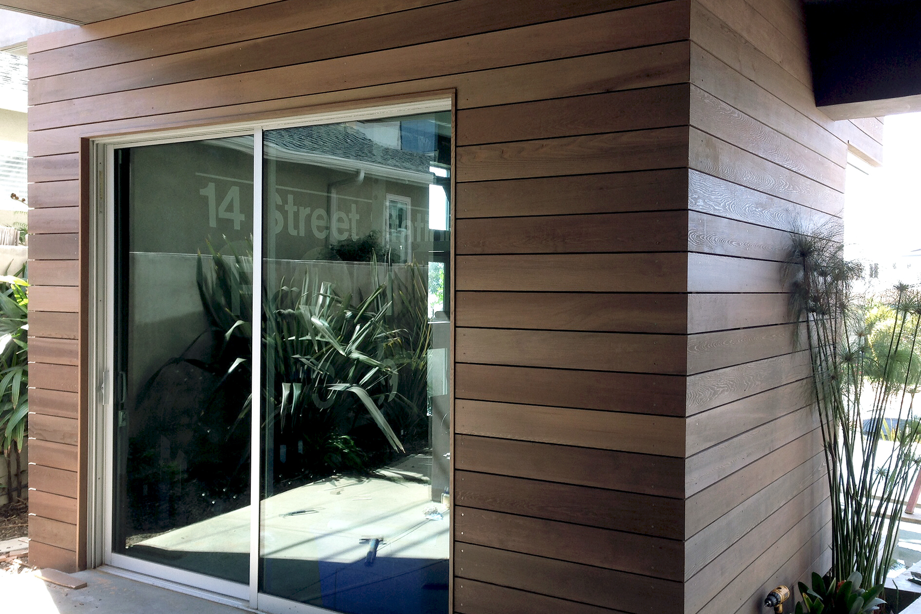 Cedar siding in San Clemente... / MYD Architecture ... on Siding Modern  id=71945
