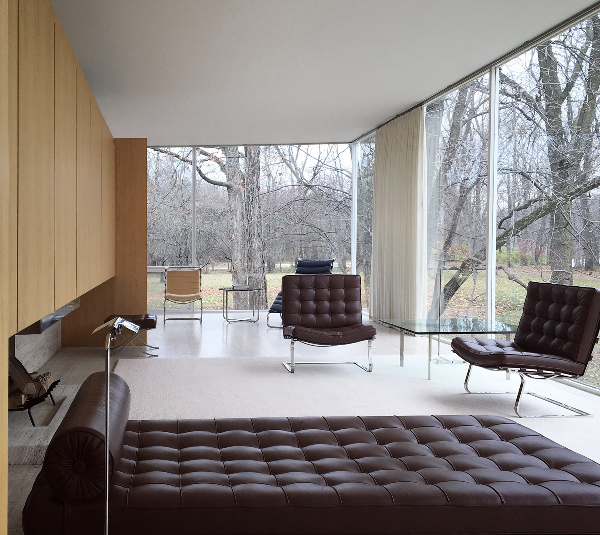 Fall At The Farnsworth House MYD Blog Moss Yaw