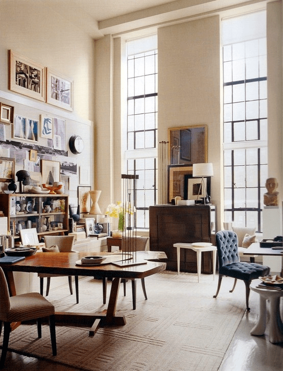 How To Decorate A Room With High Ceilings     DESIGNED Designer  Thomas O Brien  Aero Studios