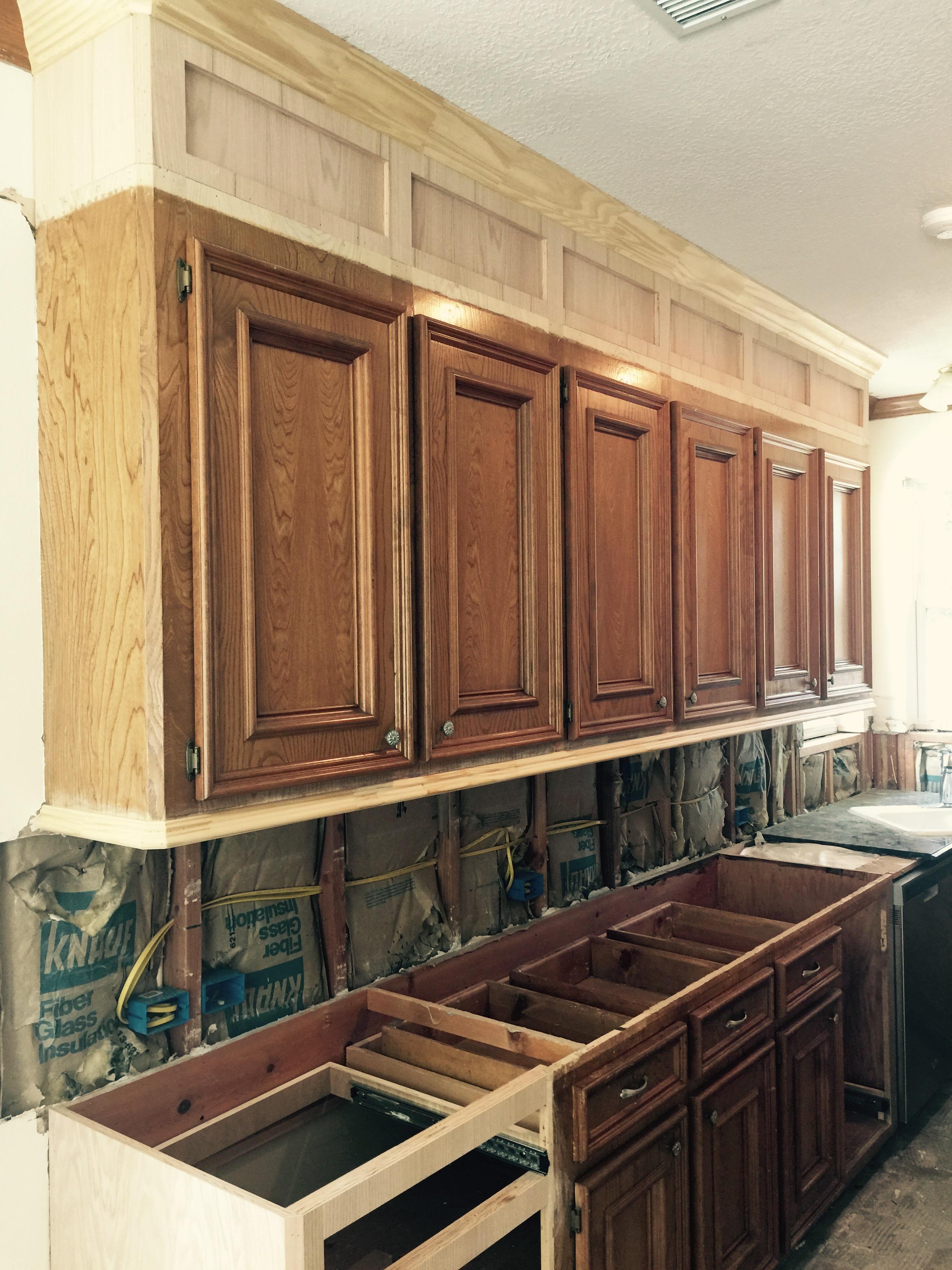 & Soffit Above Kitchen Cabinets Ideas