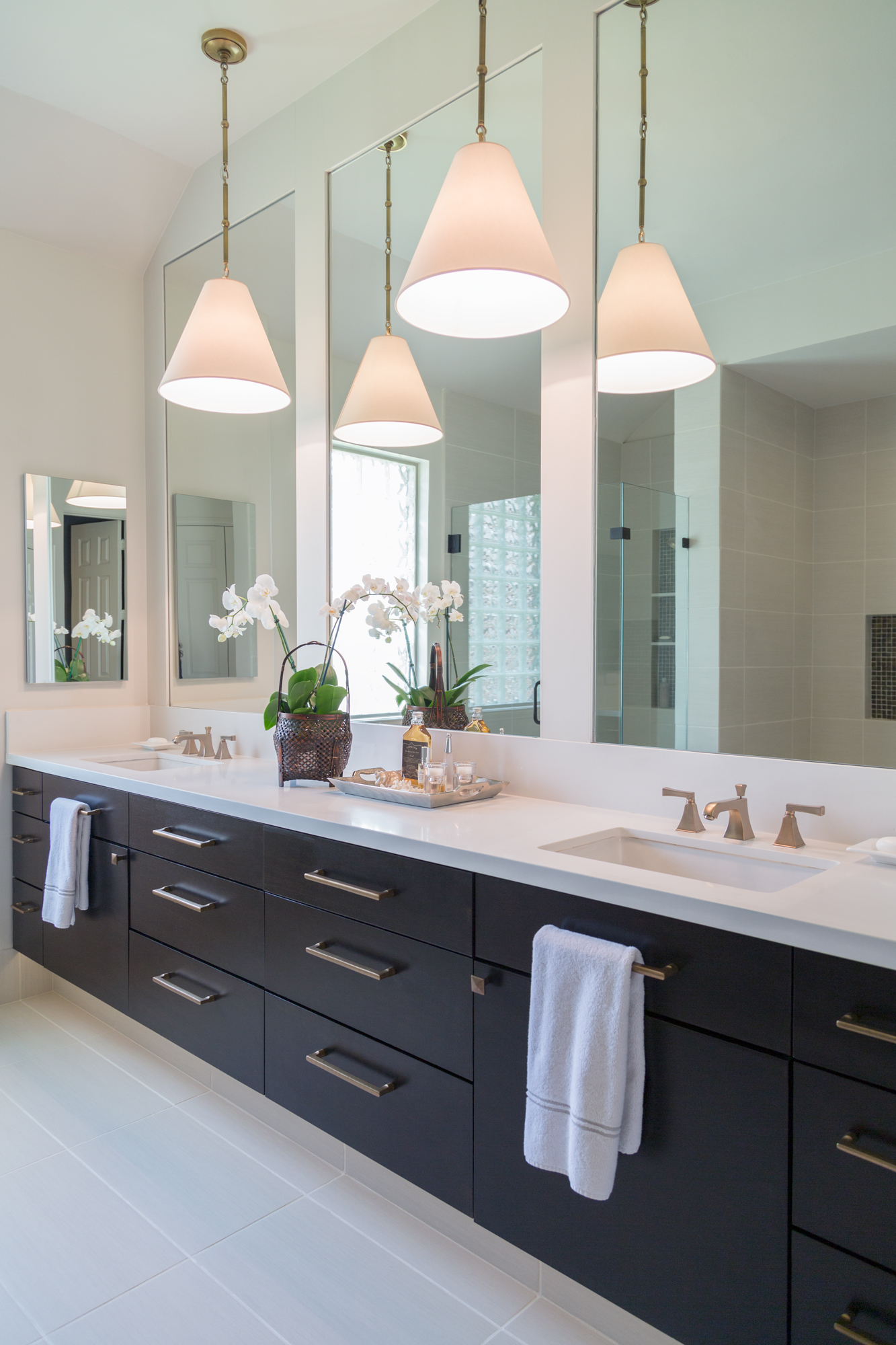 BEFORE & AFTER: A Master Bathroom Remodel Surprises ... on Master Bathroom Remodel Ideas  id=42621