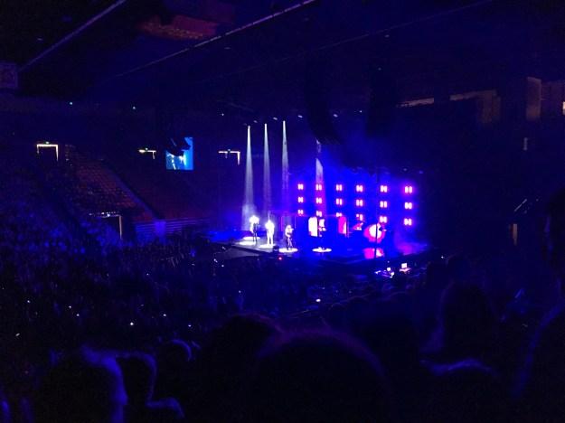 Pentatonix during their Daft Punk medley.