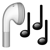 Old Apple headphone emoji