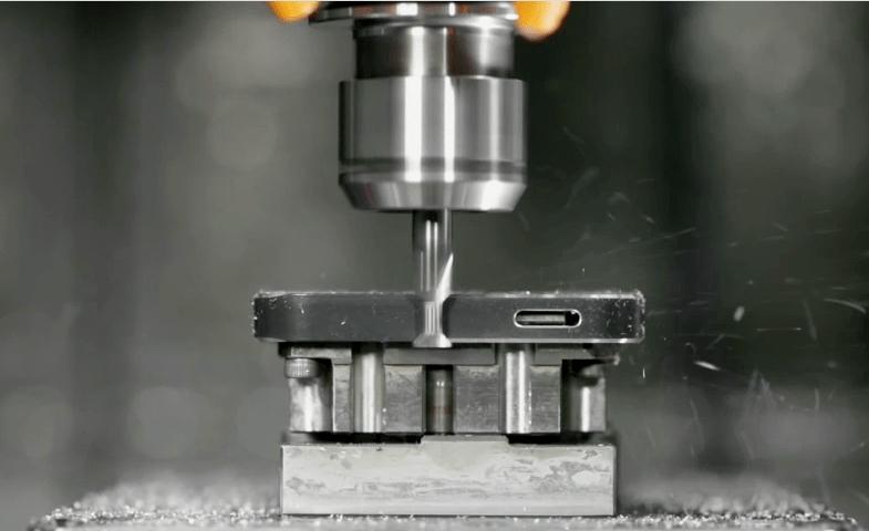 Aluminum chamfer