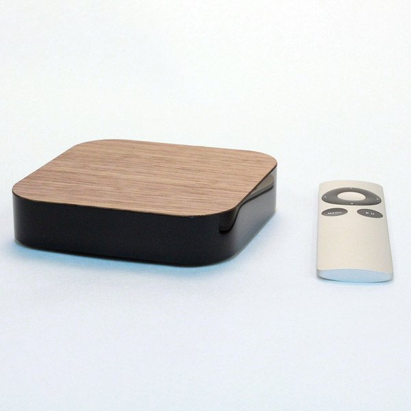 Walnut cover for Apple TV