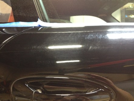 Before: Major scratches/swirl marks